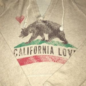 BILLABONG California love hoodie size small